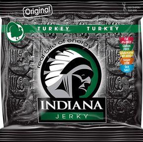 Indiana Jerky Krůtí 60 g