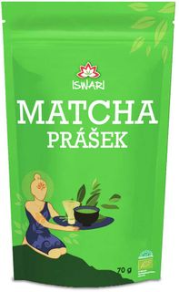 Iswari Matcha Prášek BIO 70 g
