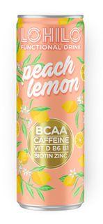Lohilo BCAA drink broskev/citron 330 ml (sycený)