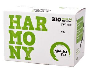 Matcha Tea Bio Harmony zelený čaj matcha BIO 30 x 2 g