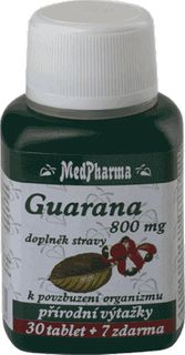 MedPharma Guarana 800mg 100+7 tablet ZDARMA