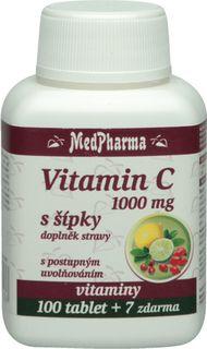 MedPharma Vitamín C 1000mg s šípky