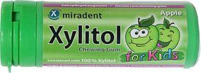 Miradent Xylitol Žvýkačky jablko 30 g