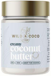 Wild & Coco Kokosové máslo Raw BIO 300 g