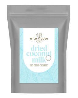 Wild & Coco Sušené kokosové mléko BIO 300 g