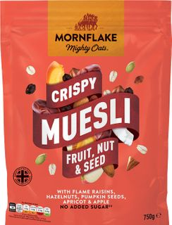 Mornflake Crispy Muesli ovoce/ořechy/semínka 750 g