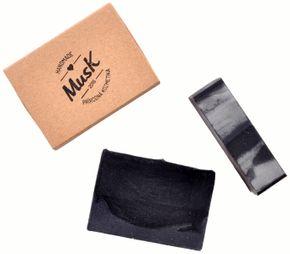 Musk Přírodní Mýdlo Černé zlato original 100 g