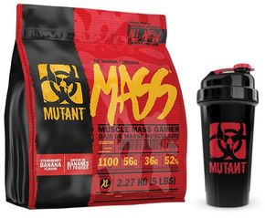 Mutant Mass All New chocolate fudge brownie 2270 g