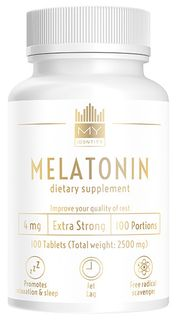 My Identity Melatonin 100 tablet