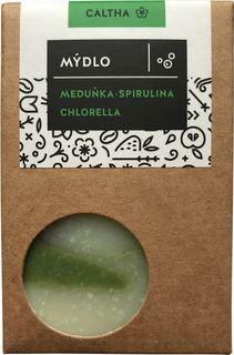 Caltha Mýdlo Meduňka s chlorellou a spirulinou