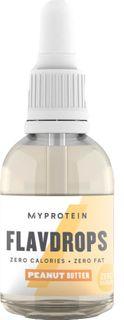 Myprotein FlavDrops arašídové máslo 50 ml