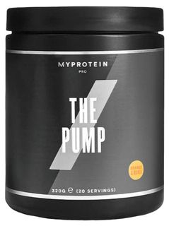Myprotein The Pump pomeranč/mango 320 g