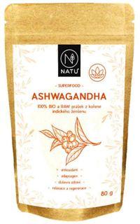 Natu Ashwagandha BIO 80 g