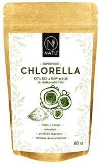 Natu Chlorella prášek BIO