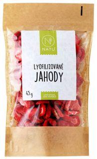 Natu Lyofilizované jahody
