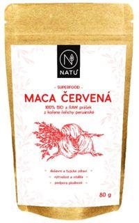 Natu Maca červená prášek BIO