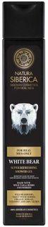 Natura Siberica MEN Super osvěžující sprchový gel Lední medvěd