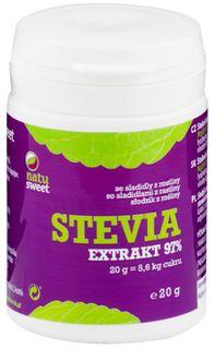 Natusweet Stevia Extrakt 97% 20 g