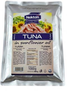Nekton Tuňák ve slunečnicovém oleji 1000 g