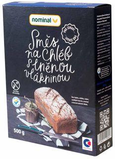 Nominal Směs na chléb s vlákninou s lněnou vlákninou 500 g
