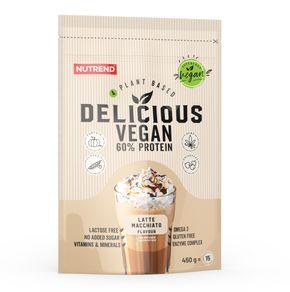 Nutrend Delicious Vegan Protein latte macchiato 450 g