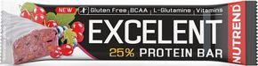 Nutrend Excelent Protein Bar černý rybíz/brusinky 85 g