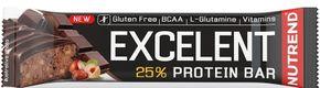 Nutrend Excelent Protein Bar čokoláda/ořech 85 g
