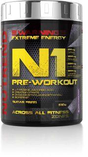 Nutrend N1 Pre-workout černý rybíz 510 g