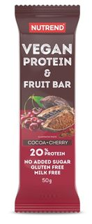 Nutrend Vegan Protein Fruit Bar
