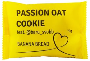 Passion Bar Vegan Oat Cookie