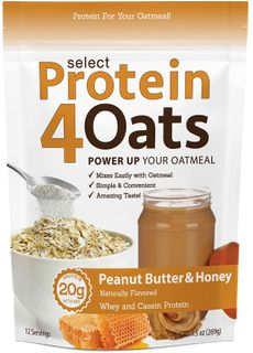 PEScience Protein 4Oats arašídové máslo/med 269 g