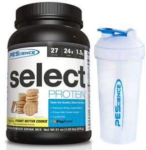PEScience Select Protein US peanut butter cookie 878 g