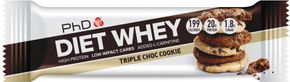 PhD Nutrition Diet Whey High Protein Bar triple choc cookie 65 g