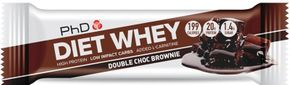 PhD Nutrition Diet Whey High Protein Bar double chocolate brownie 65 g