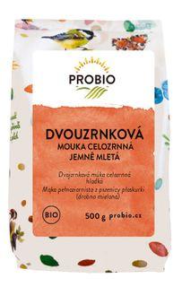 Probio Mouka dvouzrnková celozrnná jemně mletá 500 g