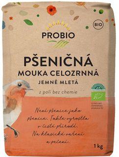 Probio Mouka pšeničná celozrnná jemná 1000 g