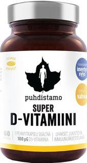 Puhdistamo Super Vitamin D 4000iu