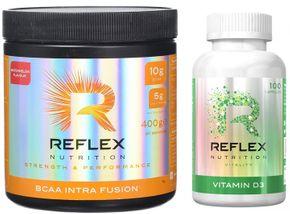 Reflex Nutrition BCAA Intra Fusion vodní meloun 400 g