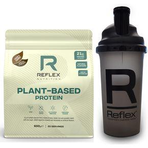 Reflex Nutrition Plant Based Protein vanilka 600 g
