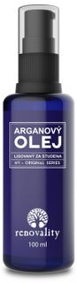 Renovality Arganový olej lisovaný za studena 100 ml