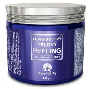 Renovality Levandulový tělový peeling 200 g