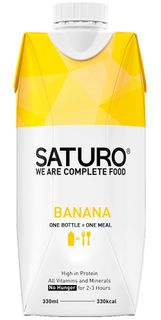 SATURO Ready To Drink Food banán 330 ml