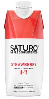 SATURO Ready To Drink Food jahoda 330 ml