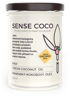 Sense Coco RAW Kokosový olej BIO
