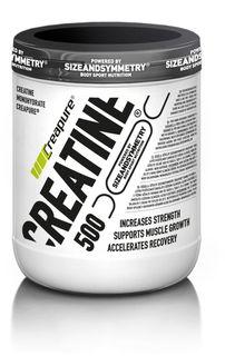 SizeAndSymmetry Nutrition Creatine Creapure bez příchutě 500 g