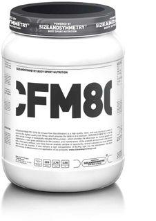 SizeAndSymmetry Nutrition Whey Protein 80 CFM vanilka 2250 g