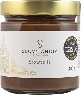 Slowlandia Slowtella krém jemné lískové ořechy/kakao 400 g