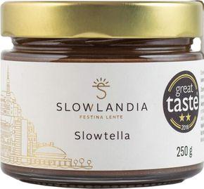 Slowlandia Slowtella krém jemné lískové ořechy/kakao 250 g