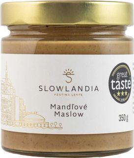 Slowlandia Slowtella mandlové máslow