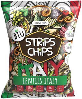 Strips Chips Čočka Italy BIO